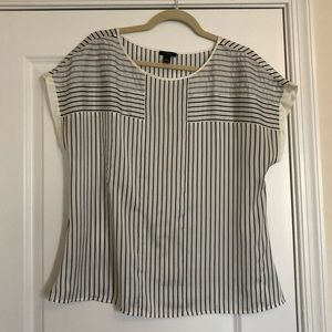 Ann Taylor stripe blouse!